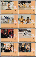 "Movie Posters:Action, Enter the Dragon (Warner Brothers, 1973). Lobby Card Set of 8 (11""X 14""). Action.. ... (Total: 8 Items)"