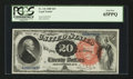 Large Size:Legal Tender Notes, Fr. 136 $20 1880 Legal Tender PCGS Gem New 65PPQ.. ...