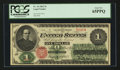 Large Size:Legal Tender Notes, Fr. 16 $1 1862 Legal Tender PCGS Gem New 65PPQ.. ...