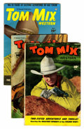 Golden Age (1938-1955):Western, Tom Mix Western Group (Fawcett, 1948-50) Condition: Average VG+.... (Total: 11 Comic Books)