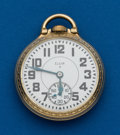 Timepieces:Pocket (post 1900), Elgin 21 Jewel, B.W. Raymond, Gold Flashed Movement. ...