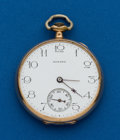 Timepieces:Pocket (post 1900), Howard, 12 size, 17 Jewels. ...