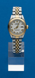 Timepieces:Wristwatch, Rolex, Ladies Two Tone, Datejust, circa 1993. ...
