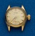 Timepieces:Wristwatch, Rolex, Ladies 18k, Oyster Precision, Ref. 6525. ...