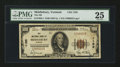 National Bank Notes:Vermont, Middlebury, VT - $100 1929 Ty. 1 The NB of Middlebury Ch. # 1195. ...