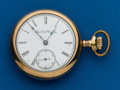 Timepieces:Pocket (post 1900), Elgin, 18 Size, Pocket Watch. ...