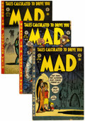 Golden Age (1938-1955):Humor, Mad #1-23 Group (EC, 1952-55)....