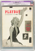 Magazines:Miscellaneous, Playboy #1 (HMH Publishing, 1953) CGC Apparent VG- 3.5 Slight (A)Off-white to white pages....
