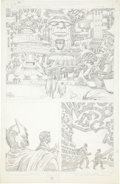 Original Comic Art:Panel Pages, Jack Kirby Super Powers #5 Batman and Robin page 7 PencilsOriginal Art (DC, 1986)....