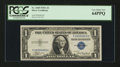 Small Size:Silver Certificates, Low Serial Number Fr. 1608 $1 1935A Silver Certificate. PCGS Very Choice New 64PPQ.. ...