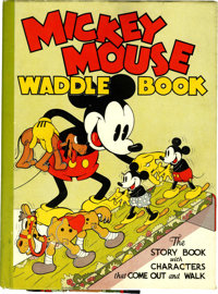 Mickey Mouse Waddle Book (Blue Ribbon Press, 1934)