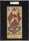 Baseball Cards:Singles (Pre-1930), 1914 Boston Garter Joe Jackson SGC 10 Poor 1....