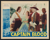 "Captain Blood (Warner Brothers, 1935). Lobby Card (11"" X 14""). Adventure"