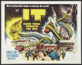 """Movie Posters:Science Fiction, It Came from Beneath the Sea (Columbia, 1955). Half Sheet (22"""" X 28""""). Science Fiction.. ..."""