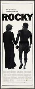 "Movie Posters:Sports, Rocky (United Artists, 1977). Insert (14"" X 36""). Sports.. ..."