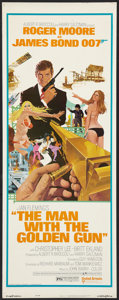 """Movie Posters:James Bond, The Man With the Golden Gun (United Artists, 1974). Insert (14"""" X36""""). James Bond.. ..."""