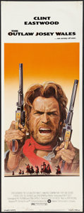 """Movie Posters:Western, The Outlaw Josey Wales (Warner Brothers, 1976). Insert (14"""" X 36""""). Western.. ..."""