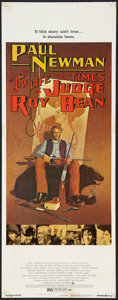 "Movie Posters:Western, The Life and Times of Judge Roy Bean (National General, 1972). Insert (14"" X 36""). Western.. ..."