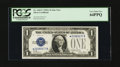Small Size:Silver Certificates, Fr. 1601* $1 1928A Silver Certificate Star. PCGS Very Choice New 64PPQ.. ...