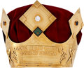 """Baseball Collectibles:Others, 1990's Johnny Bench """"Babe Ruth Crown"""" Award...."""