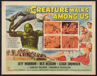 "The Creature Walks Among Us (Universal International, 1956). Half Sheet (22"" X 28""). Style A. Horror"