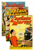 Golden Age (1938-1955):Superhero, Captain Marvel Adventures #76, 78, and 83 Group (Fawcett, 1947-48)Condition: Average VG.... (Total: 3 Comic Books)
