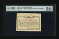 Colonial Notes:New York, New York March 5 , 1776 (Water Works) 8s PMG Choice About Unc 58EPQ.. ...