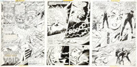 Jose Delbo and Vince Colletta The Superman Family Supergirl Page Original Art Group (DC, 1977).... (Total: 12 Original A...