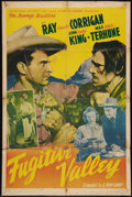 "Movie Posters:Western, Fugitive Valley (Monogram, 1941). One Sheet (27"" X 41""). Western.. ..."
