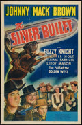 """Movie Posters:Western, The Silver Bullet (Universal, 1942). One Sheet (27"""" X 41""""). Western.. ..."""