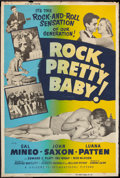 """Movie Posters:Rock and Roll, Rock, Pretty Baby (Universal International, 1957). Poster (40"""" X60""""). Rock and Roll.. ..."""
