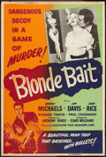 "Movie Posters:Bad Girl, Blonde Bait (Associated Film, 1956). Poster (40"" X 60""). Bad Girl....."