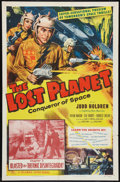 """Movie Posters:Serial, The Lost Planet (Columbia, 1953). One Sheet (27"""" X 41"""") Chapter 3 -- """"Blasted by Thermic Disintegrator."""" Serial.. ..."""