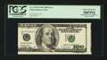 Error Notes:Ink Smears, Fr. 2175-B $100 1996 Federal Reserve Note. PCGS Choice About New58PPQ.. ...