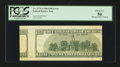 Error Notes:Skewed Reverse Printing, Fr. 2175-J $100 1996 Federal Reserve Note. PCGS About New 50.. ...