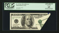 Error Notes:Foldovers, Fr. 2175-B $100 1996 Federal Reserve Note. PCGS Apparent Gem New65.. ...