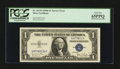 Error Notes:Obstruction Errors, Fr. 1613N $1 1935D Silver Certificate. PCGS Gem New 65PPQ.. ...