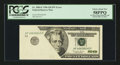 Error Notes:Foldovers, Fr. 2084-F $20 1996 Federal Reserve Note. PCGS Choice About New58PPQ.. ...