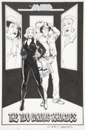 Original Comic Art:Splash Pages, Gene Gonzales The Maze Agency #3 Splash page OriginalArt (Caliber Press, 1998)....