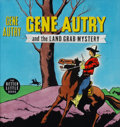 Original Comic Art:Covers, Big Little Book Gene Autry and the Land Grab Mystery #1439 Cover Original Art (Whitman, 1948)....