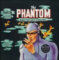 Original Comic Art:Covers, Big Little Book The Phantom and the Sky Pirates #1468 CoverOriginal Art (Whitman, 1945)....