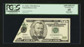 Error Notes:Foldovers, Fr. 2126-C $50 1996 Federal Reserve Note. PCGS Apparent ExtremelyFine 45.. ...