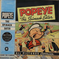 Original Comic Art:Covers, Big Little Book Popeye the Spinach Eater #1480 Cover Original Art (Whitman, 1945)....