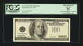 Error Notes:Third Printing on Reverse, Fr. 2175-B $100 1996 Federal Reserve Note. PCGS Apparent Very Fine 25.. ...
