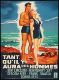 "Movie Posters:War, From Here to Eternity (Columbia, 1953). French Affiche (22.5"" X 30""). War.. ..."