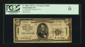 National Bank Notes:Virginia, Poquoson, VA - $5 1929 Ty. 1 The First NB Ch. # 12092. ...