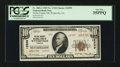 National Bank Notes:Virginia, Wytheville, VA - $10 1929 Ty. 2 Wythe County NB Ch. # 12599. ...