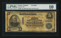 National Bank Notes:Virginia, Louisa, VA - $5 1902 Plain Back Fr. 606 The First NB Ch. # 10968....