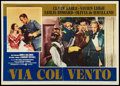 "Movie Posters:Academy Award Winners, Gone with the Wind (MGM, 1948). Italian Photobustas (2) (18.5"" X26""). Academy Award Winners.. ... (Total: 2 Items)"