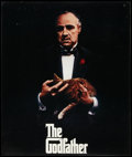 """Movie Posters:Crime, The Godfather (Paramount, 1972). Italian Photobusta (18"""" X 25.75"""") and Promotional Poster (23"""" X 27""""). Crime.. ... (Total: 2 Items)"""
